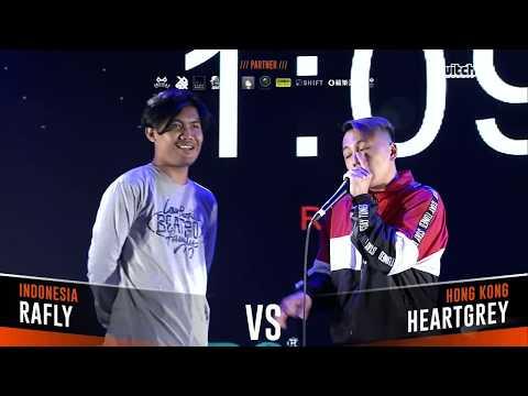 RAFLY VS HEARTGREY|Asia Beatbox Championship 2018 Solo Beatbox Top 8