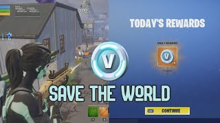 [FORTNITE] 5 ways to get V-BUCKS from Save The World.