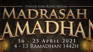 Madrasah Ramadhan - Ustadz Dr Syafiq Riza Basalamah MA