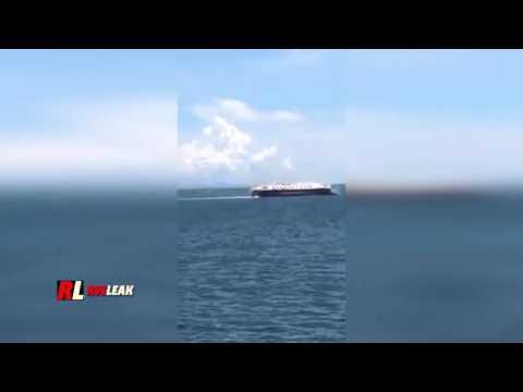 Overloaded Ship capsizes off Indonesian Coast