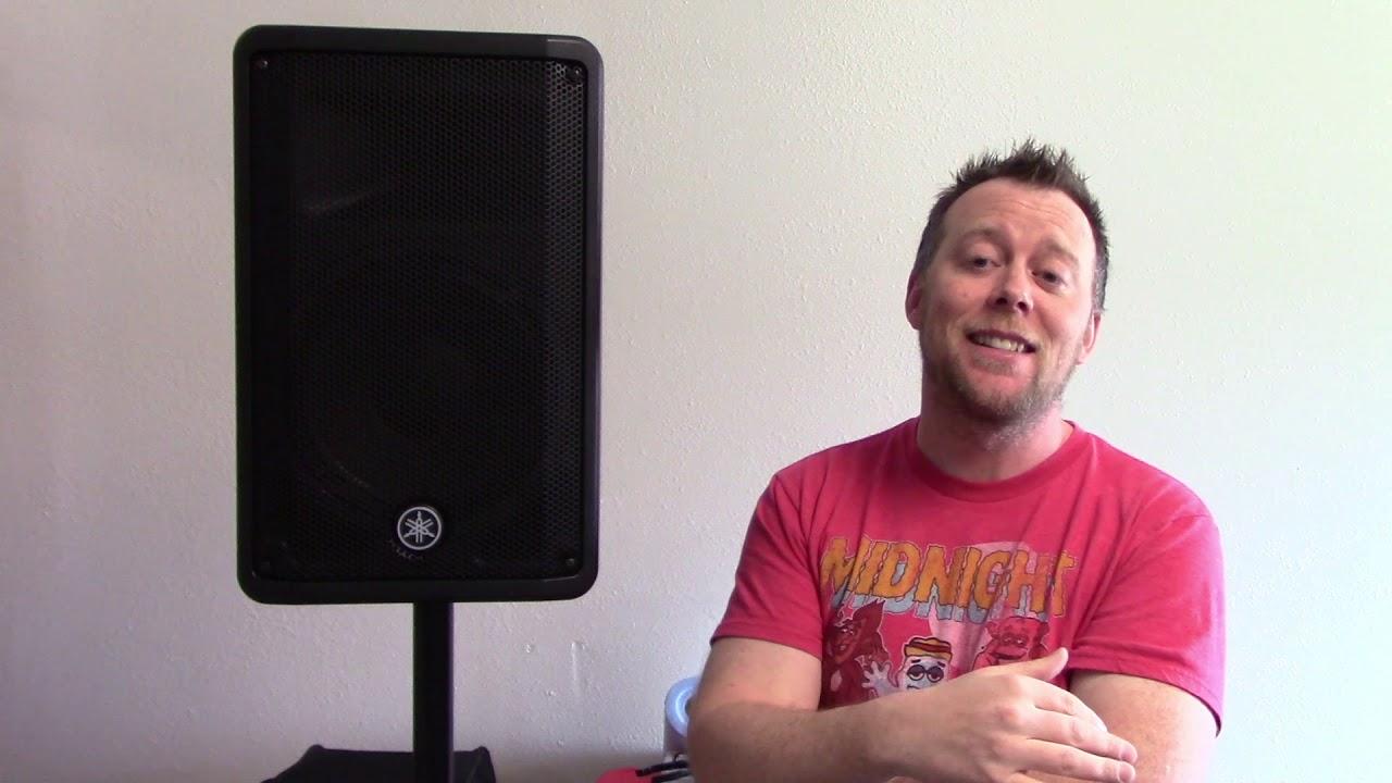 Yamaha DBR10 Powered Speaker Review