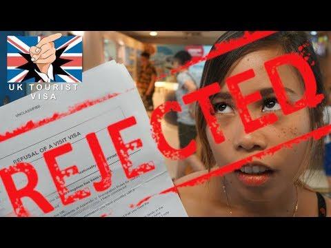 I GOT REJECTED - UK tourist visa VLOG E32