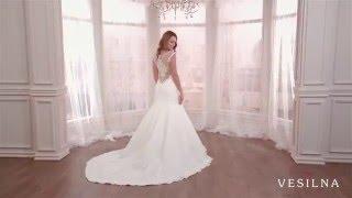 Свадебное платье годе от VESILNA™ модель 3075
