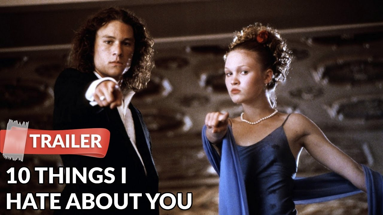 10 Things I Hate About You 1999 Trailer Heath Ledger Julia