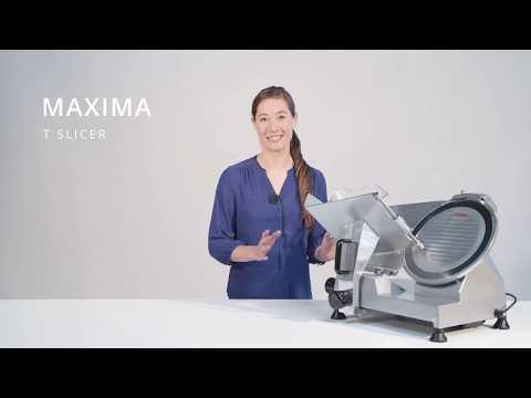Vleessnijmachine 300 Mm - MAXIMA