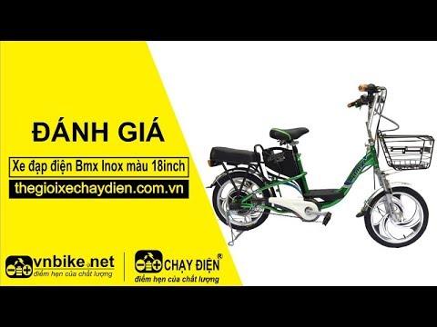 Đánh giá xe đạp điện Bmx Inox màu 18inch