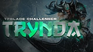 TFBlade Challenger Tryndamere Mid Gameplay