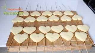 Çubukta Kalpli Kurabiye ( Özel günler için )  / Hayalimdeki Yemekler