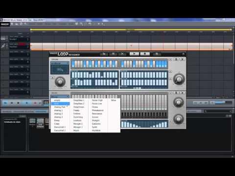 Instruments on MAGIX Music Maker 2016 [Revolta 2, electric piano, beatbox 2, etc]