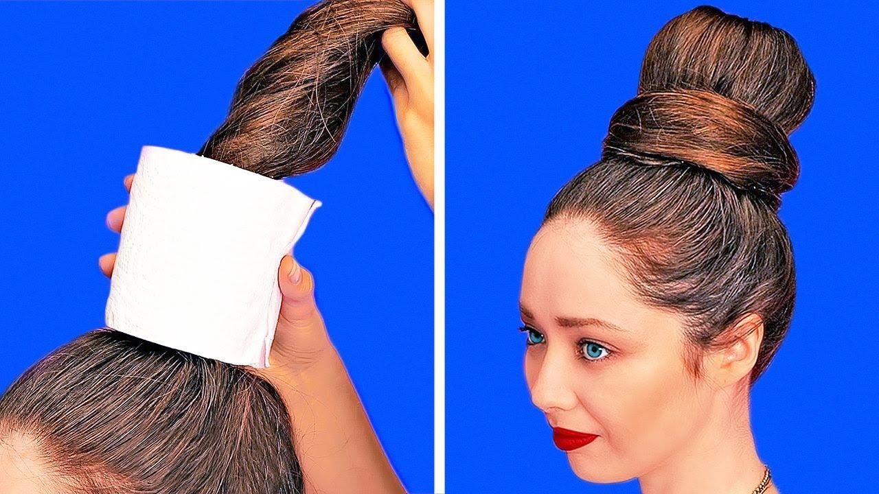31 НЕОБЫЧНЫЙ БЬЮТИ ЛАЙФХАК || Женские советы и трюки || Идеи для макияжа и переделки одежды