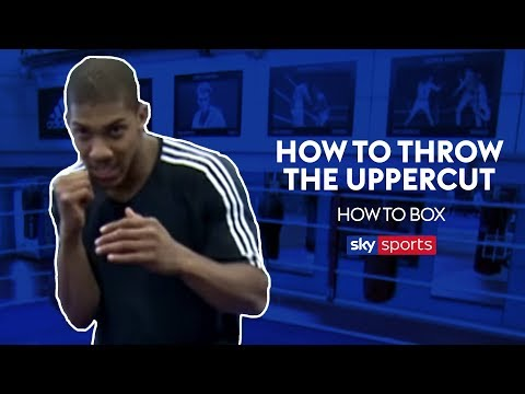 How to Throw an Uppercut like Anthony Joshua | How to Box