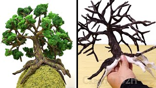 How to Make a Realistic Tree | Diorama