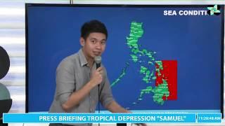 Press Briefing:Tropical Depression