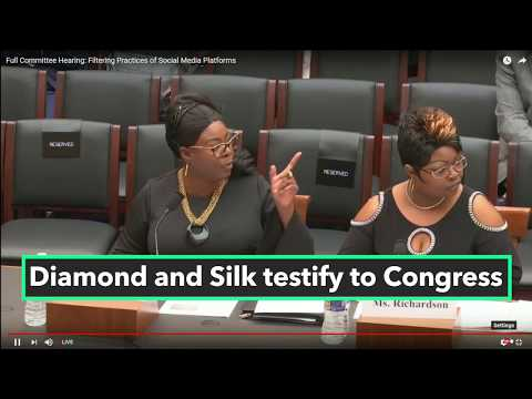 Diamond and Silk, Others Testify Before Congress