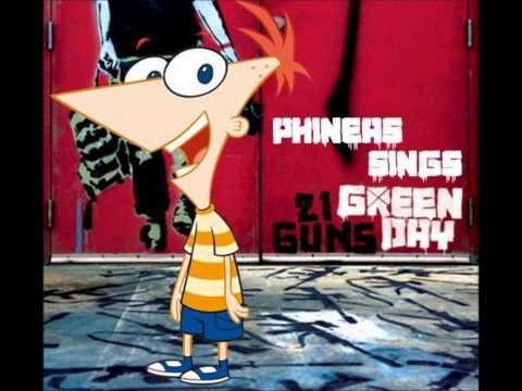 Phineas Sings Green Day's 21 Guns