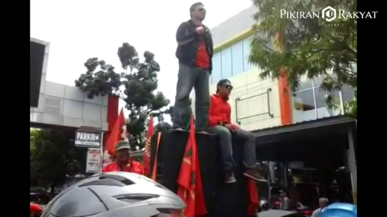 Peringatan Hari Buruh 2016 di Indramayu