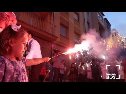 VÍDEO: Algunos retazos de la procesión de la Virgen del Valle celebrada este sábado