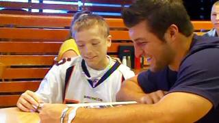 My Wish: Tim Tebow meets Adam