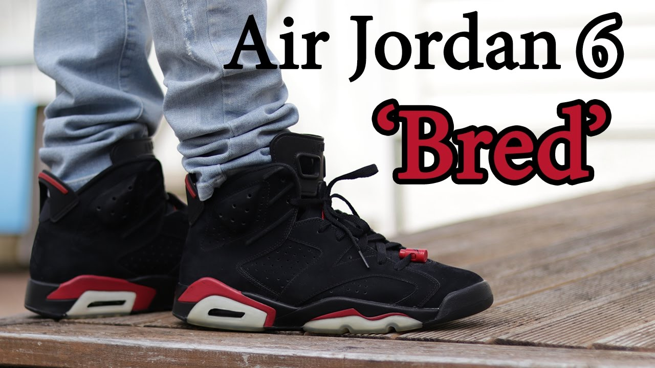 1c4648a64eb060 My Grails! Air Jordan 6  Bred  On-Feet and Close Up w  DIfferent ...