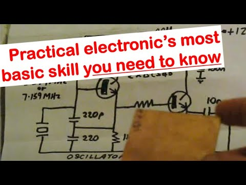 Building electronics from schematic diagrams - YouTube