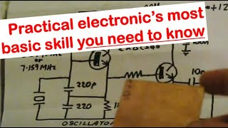 Building electronics from schematic diagrams