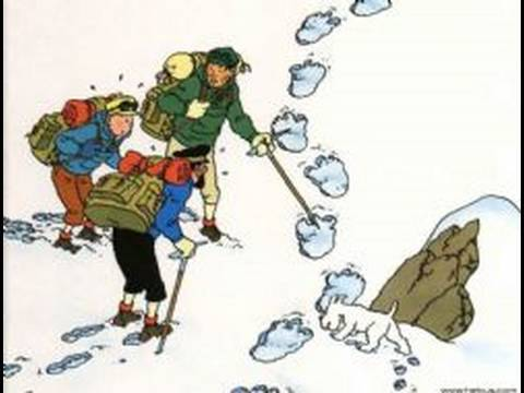 Review Tintin au Tibet - YouTube