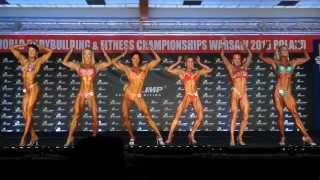 Miss Figure over 40 - Final - World Championships in Bodybuilding u0026 Fitness NAC Warsaw 2015