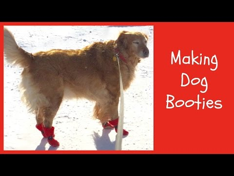 Making Dog Booties, A Sewing Tutorial