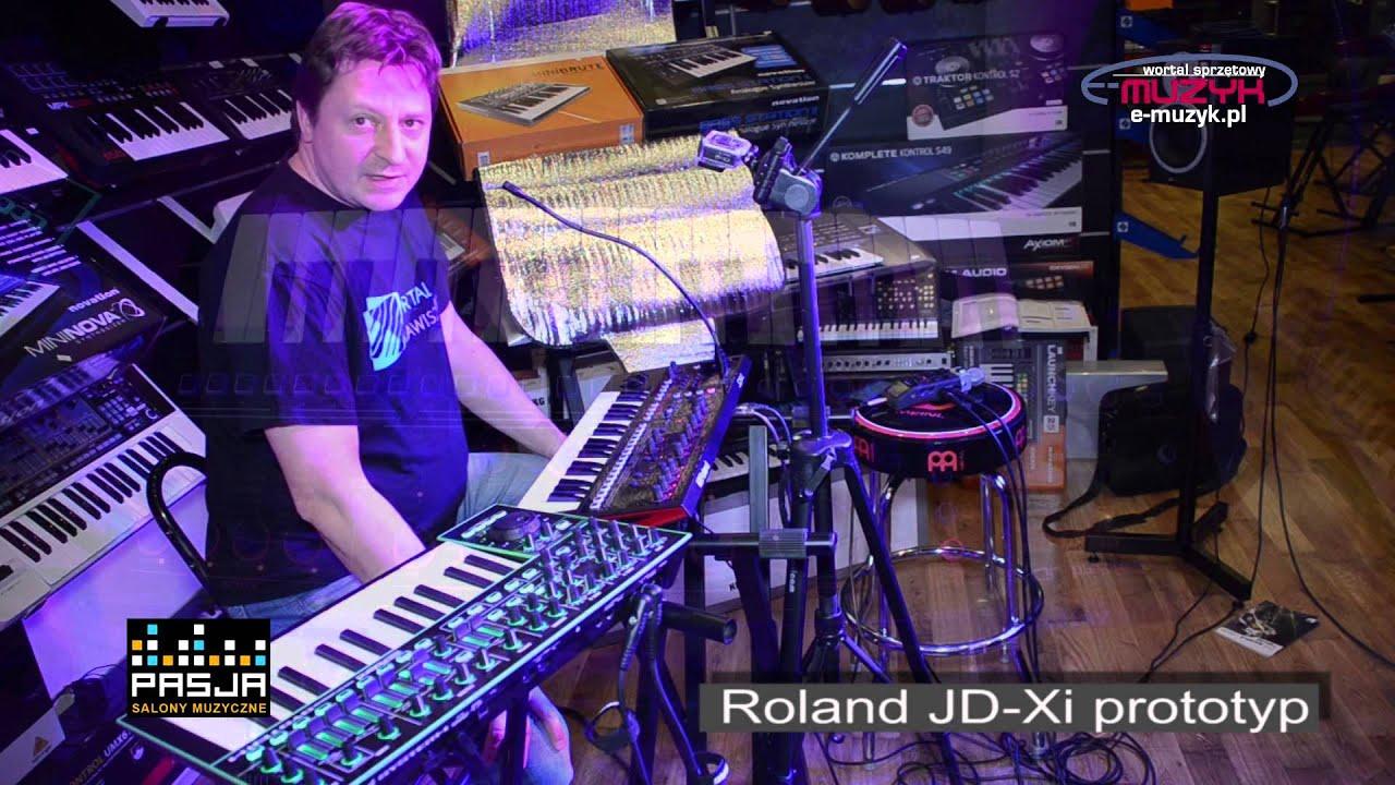 Roland JD-Xi demo - Sklep Muzyczny PASJA