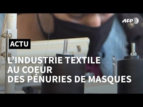 Coronavirus: les pénuries de masques, l'industrie textile et la mondialialisation | AFP