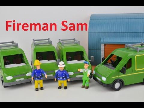 Fireman Sam Sams Mikes Van Mike Ages 3 Fireman Sam!