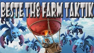 BESTE TH8 FARM TAKTIK | DUNKLES ELIXIER FARMEN| Let´s Play CoC/ Clash of Clans | Deutsch/ German