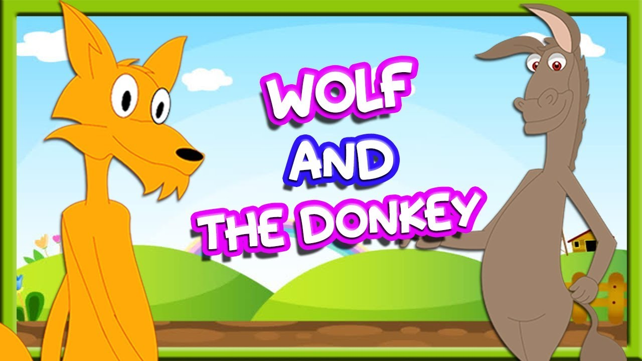 Wolf And The Donkey | Aesops Fables In English | Moral Story For Kids | Tuk Tuk Tv