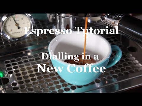 Coffeefusion - Dialling in a New Coffee