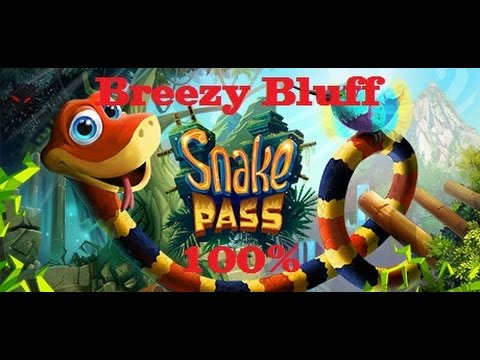 Snake Pass 100% Guide - Level 13 (Breezy Bluff)