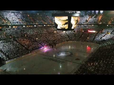 Winnipeg Jets vs Nashville Predators Full Intro