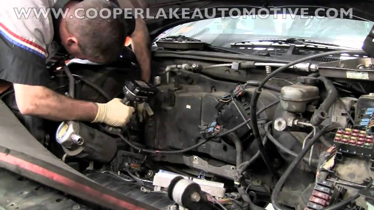Cadillac Evaporator Core Youtube Deville 2003 Fuse Box Diagram