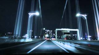 (HD) Night drive in Tokyo 01 -夜の首都高 湾岸線→台場線→C1→渋谷線- thumbnail