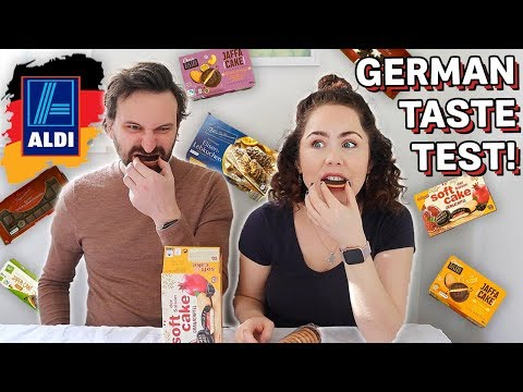 Trying German Candy 2020! German Aldi Sweets