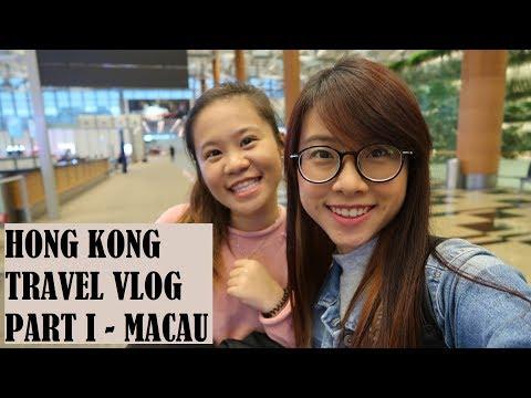 Hong Kong 6D5N Travel Vlog (Part 1) - Macau