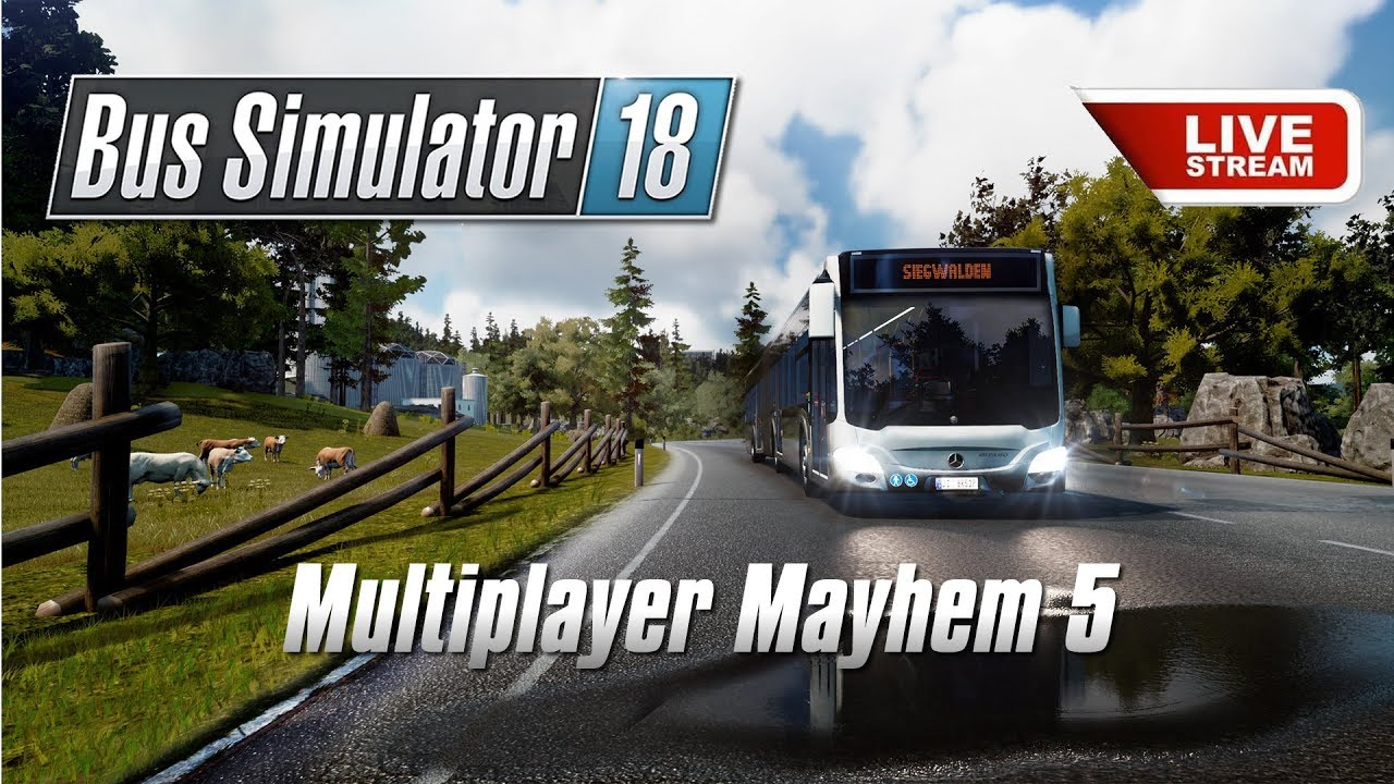 2a1d784652f Bus Simulator 18 Multiplayer Mayhem #5 - Jimmy Dali :: Let's Play Index