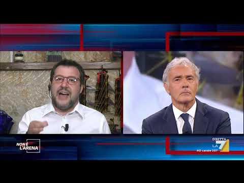 """Matteo Salvini: """"Da Mattarella parole chiare, lo ringrazio"""""""