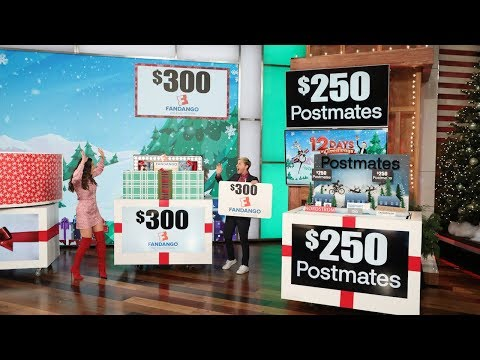 Ellen Calls on Virtual Assistant Olivia Munn to Help Out with Day 11 of 12 Days