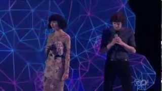 Gotye feat.Kimbra - Somebody That I Used To Know (live Aria 2011)