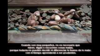 Los 3 monos sabios o místicos