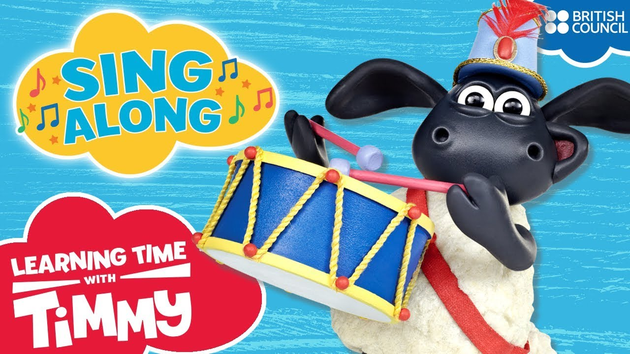 Timmys Noisy Singalong 1 | Learning Time with Timmy | Nursery Rhymes and Songs for Kids