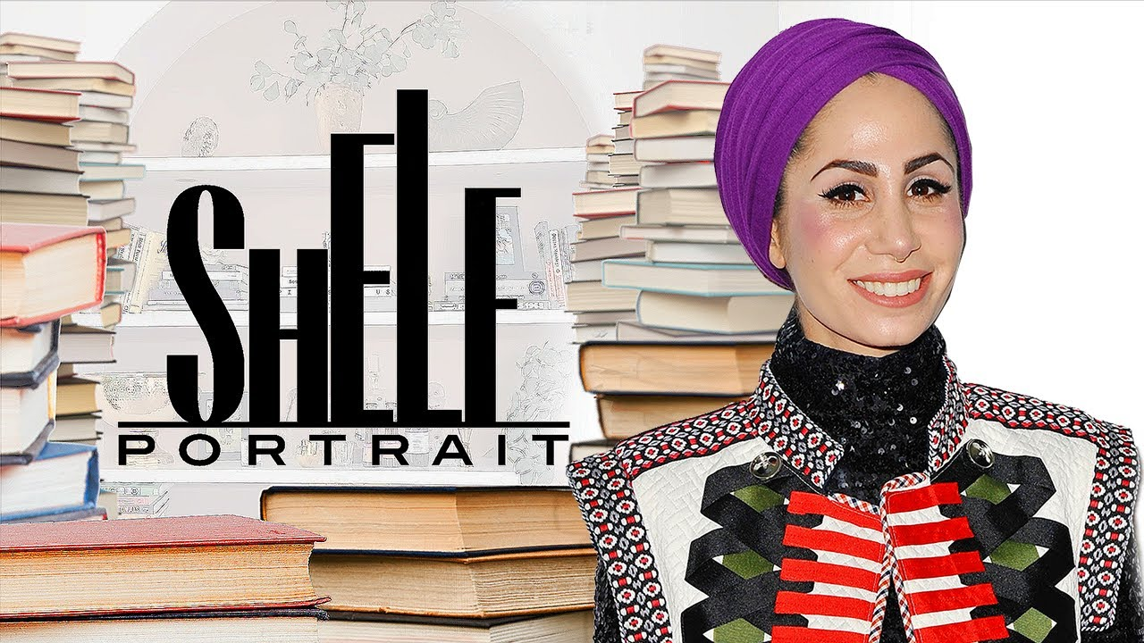 Take a Tour of Author Tahereh Mafi's Enviable Personal Library | Shelf Portrait | Marie Claire