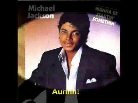 Michael Jackson - Wanna be startin' somethin'(karaoke)