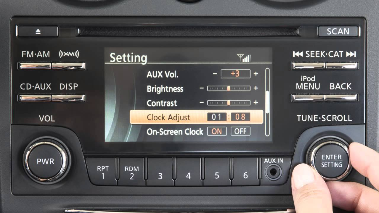 how to set up nissan connect
