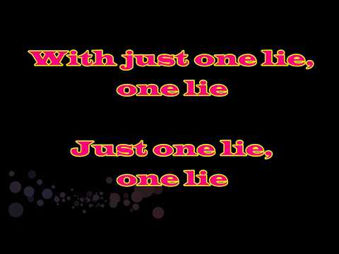 Just One Lie (Radio Version) - Matteo Markus Bok| Aliery Lyrics